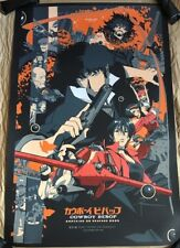 Cowboy Bebop Knocking On Heaven's Door Movie Poster Art Print Vincent Aseo mondo