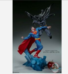 Batman Vs Superman Diorama Sideshow Collectibles 200539