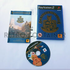 Vintage Game SONY PLAYSTATION 2 PS2 - Canis Canem Edit - Rockstar Games