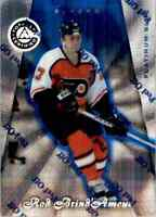 1997-98 Pinnacle Totally Certified Platinum Blue Rob Brind'Amour 2845/3099 #93