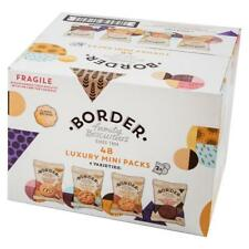 Border Biscuits 48 Luxury Mini 2 Biscuit Packs (4 Varieties)