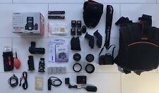 Canon EOS 550D SLR Camera Setup