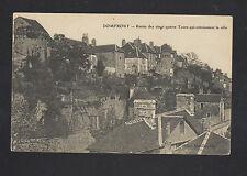 DOMFRONT (61) VILLAS début 1900