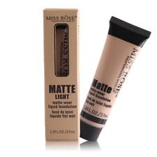 Liquid Foundation Matte Face Concealer Base Cosmetics Makeup Waterproof Lasting