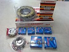 SWIVEL HOUSING KIT  TWO WHEEL BEARINGS & TWO CV JOINTS NISSAN PATROL GU Y61 97--