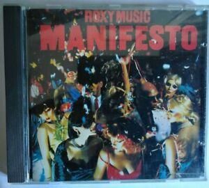 Roxy Music : Manifesto CD