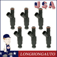 Pack 6 Fuel Injectors for Ford  02 F-150 Heritage 99-02 E-250 Econoline  03 E250