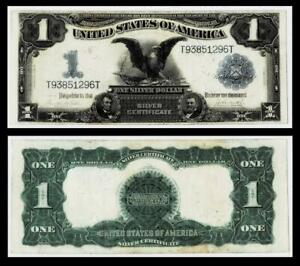 1899 $1 BLACK EAGLE SILVER CERTIFICATE NOTE~~VERY FINE