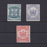 NORTH BORNEO 1894, SG# 81-83, CV £74, part set, MH/NG
