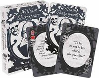 SHAKESPEARE - QUOTES - PLAYING CARD DECK - 52 CARDS NEW - 52582