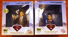 Superman Returns Superman and Lex Luthor  BESTBUY Figure Bust DC DIRECT BUY NOW