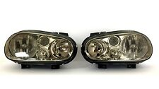 FITS 99-06 VOLKSWAGEN GOLF MK4 CABRIO/GTI/R32/TDI SMOKE HOUSING HEADLAMP LIGHTS