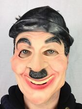 Charlie Chaplin Mask Latex Famous Silent 1920's Actor Face Mask Fancy Party