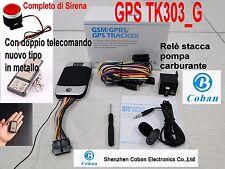GPS  TRACKER TK 303G GSM GPRS  ANTIFURTO AUTO MOTO LOCALIZZATORE SATELLITARE