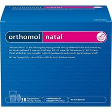 Orthomol Natal Granulat + Kapseln (30 Granulat/Kapseln) Kombipackung PZN 1319904