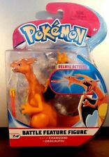 New S3 Pokemon Wicked Cool Toys Charizard Battle Feature Figure Deluxe Action