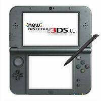 New Nintendo 3DS LL Metallic Black Japanese Import