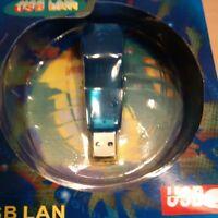 CAVO ADATTATORE DA USB A FAST ETHERNET 10/100 RJ45 usato.