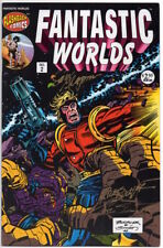 FANTASTIC WORDS #2 - 1995 -Autographed Sam Glanzman, Rich Bucklerm & Joe Sinnott