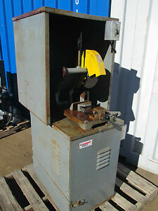 "KALAMAZOO 3 HP   10"" CUTOFF SAW  CHOP SAW WITH CABINET AND DUST COLLECTOR"