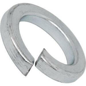 M14 Spring Washers Heavy Duty - BZP - Pack of 10