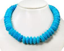 Lujo Collar DESDE azul claro CORAL EN diskusform