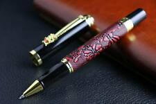 new Golden METAL OFFICE Chinese dragon Red grapes GIFT RollerBall Pen