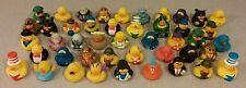 HUGE LOT OF 25 Assorted Rubber Duck Ducks Duckys Duckies