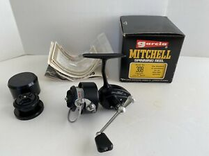 Vintage Garcia Mitchell 308 Spinning Reel in Box ~ Mint ~ NEW OLD STOCK?