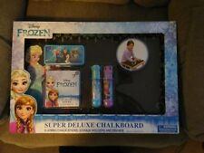 New Disney Frozen Made Super Deluxe Chalkboard Set