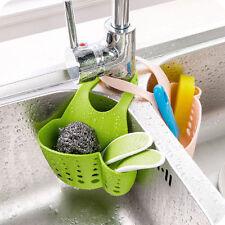 1 Pcs Portable Hanging Drain Bag Basket Bath Storage Gadget Tools Sink Holder