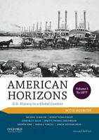 American Horizons: U.S. History in a Global Context, ... by Sheehan-Dean, Eberly