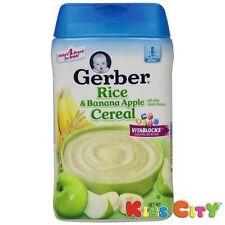 Gerber Rice & Banana Apple Cereal - 227G (8oz)