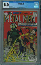 SHOWCASE #38 CGC 8.0 HIGH GRADE 2ND METAL MEN OW/W PAGES 1962 KEY BOOK 🔑