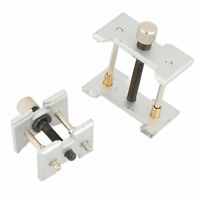1 Set Two-in-one Watch Case Metal Movement Holder Watchmaker Clamp Repair Tool