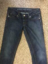 Buffalo David Bitton Jeans Sz 28 Tall Jem Skinny Low Rise Stretch