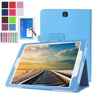 Leather Stand Case Folio Cover For Samsung Galaxy Tab 4 10.1 T530 T531 T535 T537