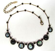 Runde Modeschmuck-Halsketten & -Anhänger aus Glas mit Beauty-Thema