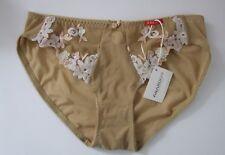 Ladies/Girls size 8-10 Designer Knickers Panties Briefs Amanda Brand  Natural