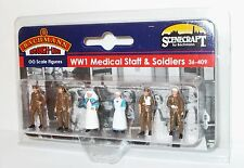 Bachmann Scenecraft 36-409 - WWI Medical Staff & Soldiers           (00) Figures