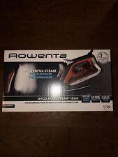 Rowenta Dw23 AccessSteam Iron - Red