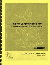 Heathkit IT-11 Capacitor Checker ASSEMBLY & OWNER'S OPERATION MANUAL