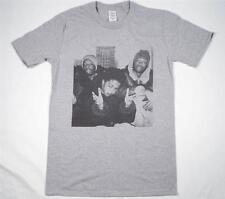 The Fugees Lauryn Hill Wyclef Grey T-Shirt Size S-XXXL hip hop rap biggie tupac
