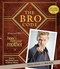 The Bro Code by Barney Stinson (CD-Audio, 2010) NEW sealed
