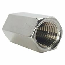 14 20 Rod Coupling Nuts Hex Extension Stainless Steel Qty 50