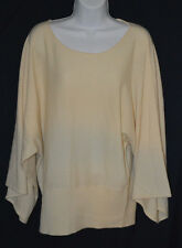 NEW Polo Ralph Lauren M 8 10 Kimono 100% Cashmere Poncho Batwing Sweater boxy