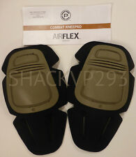 Crye Precision AirFlex Combat Knee Pads SET 03 G3 GREEN NEW PAD-KC3-15-000 NEW