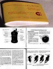Gebrauchsanweisung für die Curta - Rechenmaschine