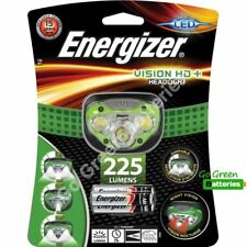 Energizer Vision HD+ LED Head Torch 225 Lumen Headlight Lamp AAA battery camping