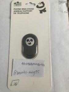 We Bare Bears Cartoon Panda Bear Phone Ring Finger Holder Stand Mount Anime
